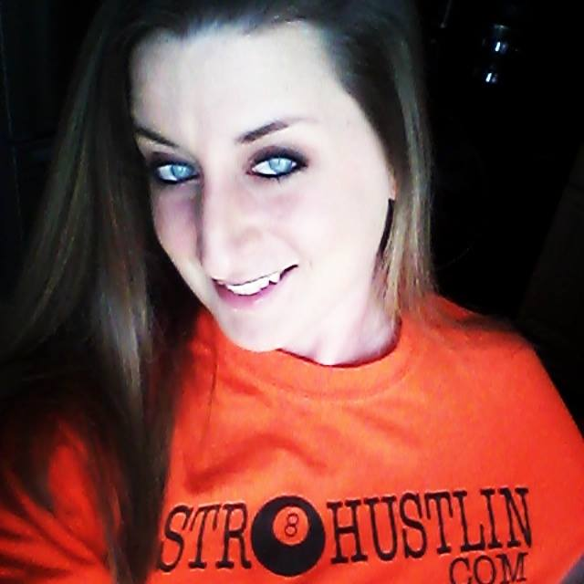 Christina Hostile Toth on Str8hustlin.com