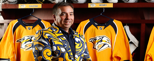 The Nashville Predator's CEO & President Sean Henry